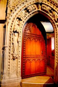 door warm