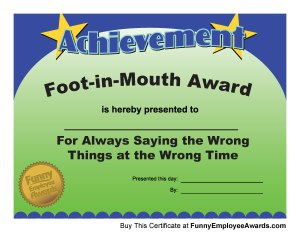 foot-in-mouth-award