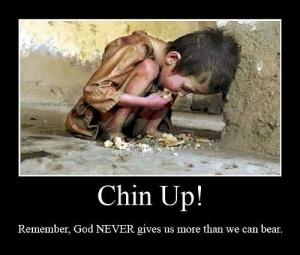 Chin up!