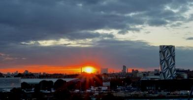 cloak sunset